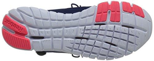 Reebok Zpump Fusion Poliuretano scarpa da running Club Blue/Cycle Blue/Neon Cherry/White/Black/Silve