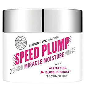 Soap And Glory Speed Plump Oovernight Miracle Night Cream Mousse 40ml