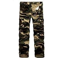 AYG Mens Cargo Pants Trousers Pantalones Militar Casual Algodón 29-40