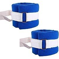 XIHAA Extremidades Médicas Correa De Retención Pacientes Manos Y Pies Cinturón De Correa Fijo para Extremidades para Ancianos Paciente Mental Uso Azul (1 Par)