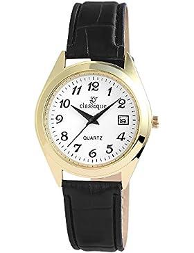 Excellanc Unisex-Armbanduhr Analog Quarz verschiedene Materialien RP1240200001