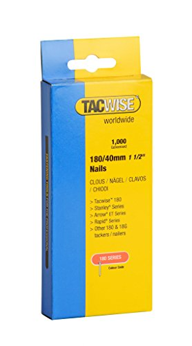 Tacwise Tacker Nails (180) 40mm (783959) by Tacwise