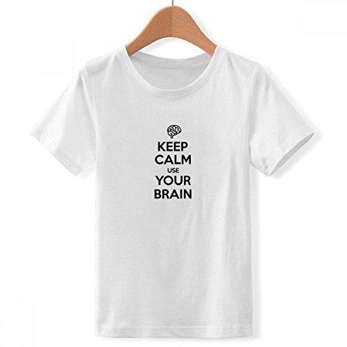 Camiseta Keep calm and use your brain