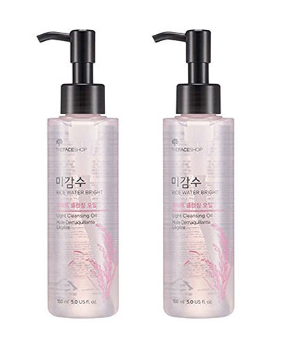 The Face Shop THE Face Shop Rice Water Bright Cleansing Light Oil 150ml 1+1 2pcs - Face Shop-herb