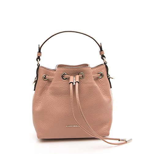 Coccinelle Borsa Donna Mini Bag Pelle Vitello Cammeo