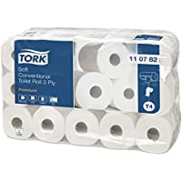 Tork - Papier Toilette - rouleaux traditionnels - Compatible avec le système T4 -  9 x lot de 8 ( 8 x 250 feuilles)