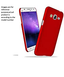 Mobiclonics Hard Shell Back Cover for Samsung Galaxy Core 2(Red)