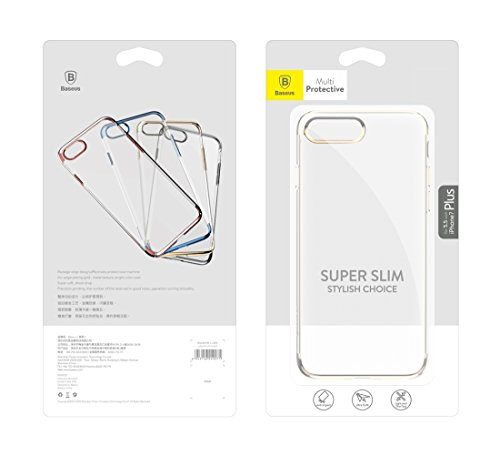 Hülle für iPhone 7 plus , Schutzhülle Für iPhone 7 Plus galvanisierende weiche transparente TPU schützende rückseitige Abdeckungs-Fall ,hülle für iPhone 7 plus , case for iphone 7 plus ( Color : Dark  Black