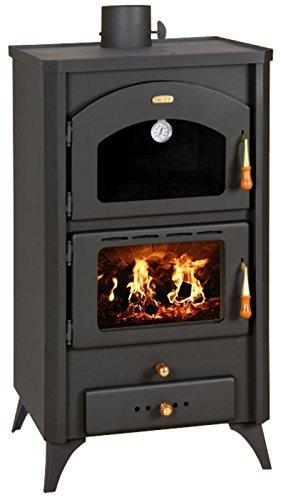 Quemador de troncos para chimenea de combustible sólido 14kW horno estufa de...