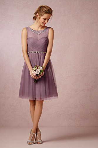 CoCogirls - Robe - Taille empire - Femme Lilas