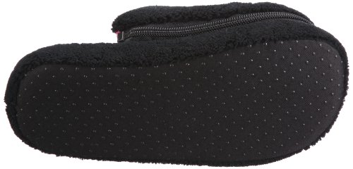 Nat-2 Home 2 in 1 WH21BK36, Chaussons femme Noir-TR-F4-89
