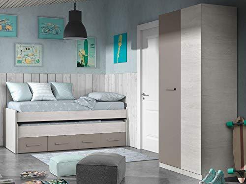 Miroytengo Pack Muebles Dormitorio Juvenil Color Unisex