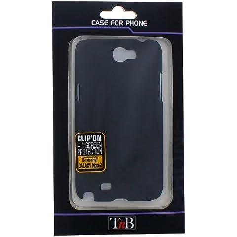 T'nB PCGNOTE2 - Carcasa rígida para Samsung Galaxy Note 2, color negro