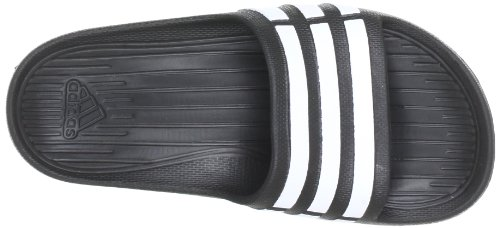 adidas Duramo Slide G06799, Ciabatte da mare/piscina unisex bambino Nero (Black/running White Footwear/black)