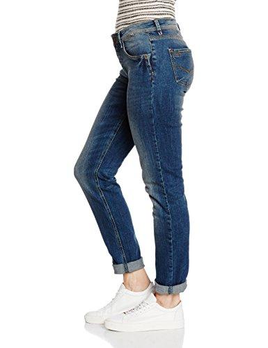 H.I.S Damen Skinny Jeans Monroe Blau (vision Blue 9370)