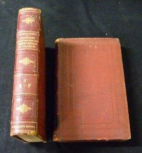 Dictionnaire général des lettres, des beaux-arts et des sciences morales et politiques. 6ème édition. par Bachelet Th. et Ch. Dezobry