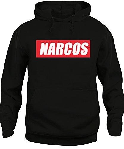 Felpa cappuccio Unisex Narcos Pablo Emilio Colombia - Famosi - iMage Nera