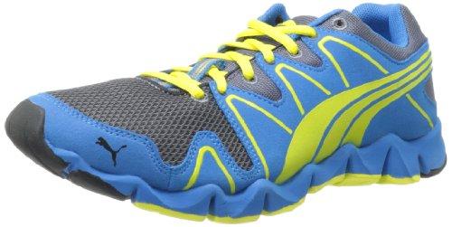 Puma Shintai Runner Mp Running Shoe Grisaille / Blue / Yellow