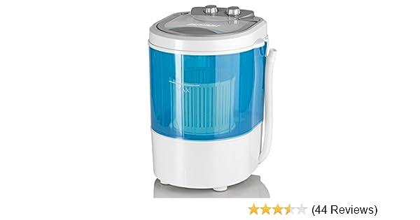 Cleanmaxx mini waschmaschine toplader mit schleuder