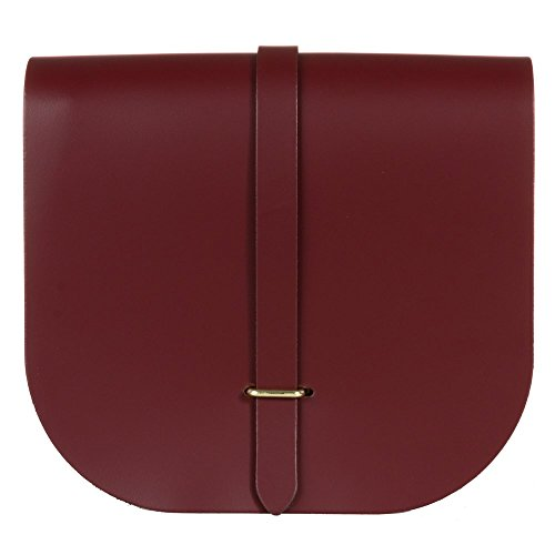 The Cambridge Satchel Company Saddle Femme Cross Body Bag Rouge Rouge