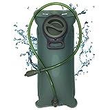theBlueStone 3 litri Sacca Idratazione Sacchetto dell'Acqua Capacità Water Bladder Portatile Sistema di Idratazione per Camminata,Ciclismo,Escursionismo
