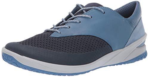 ECCO Damen Biom Life Sneaker, Blau (Marine/Retro Blue 55396), 40 EU