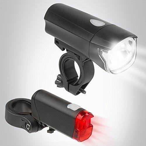 Bergsteiger Fahrradlicht, Licht LED Set, Lampenset, Fahrradbeleuchtung, Original Fahrrad-Zubehör
