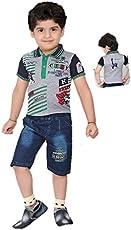 Light Gear Boy's Capri Suit Collar Dress