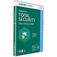 Kaspersky Lab Total Security – Multi-Device 2016 Base license 5usuario(s) 1año(s) Inglés - Seguridad y antivirus (5, 1 año(s), Base license, Soporte físico)