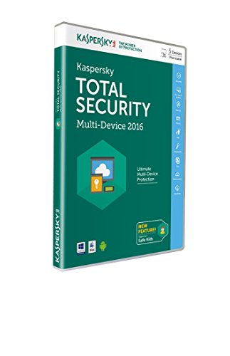 Kaspersky Total Security 2016 Multi-Device - 5 Geräte - 1 Jahr