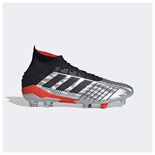 adidas Predator 19.1 Fg, Scarpe da Calcetto Indoor Uomo, Multicolore Azufue/Ftwbla 000, 44 2/3 EU