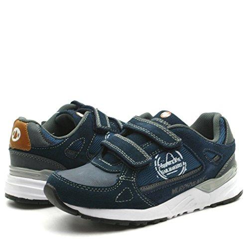 MN912 Murphy&Nye Velcro Straps Shoe Sporty for Boys >      > sangles velcro Chaussures sport pour garçons Navy Blue (bleu)