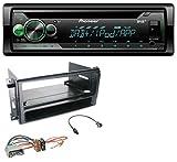 caraudio24 Pioneer DEH-S410DAB USB MP3 DAB AUX CD Autoradio für Chrysler 300C Sebring Dodge Avenger Nitro Jeep 07-13