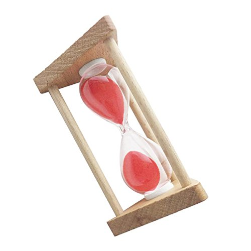 MagiDeal 1 Pieza Temporizador Reloj de Arena Sandglass Decoración de Casa Oficina - 30 segundos 2