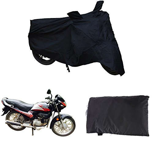 Singh & Sons Premium Quality Water Resistant Bike Cover With Mirror Pockets For Hero MotoCorp Achiever Disc