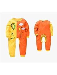 Bébé vêtement printemps et automne double couche de coton un seul bout ouvert ouvrir un vêtement d'homme pour sortir des vêtements , 90cm