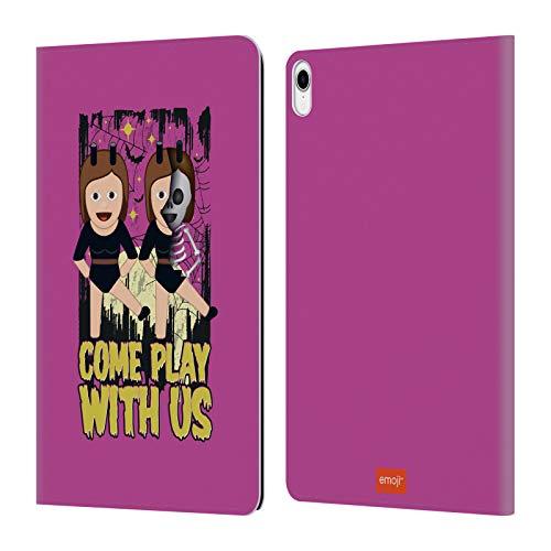 Head Case Designs Offizielle Emoji® Spiel Mit Uns Halloween Leder Brieftaschen Huelle kompatibel mit iPad Pro 11 (2018)