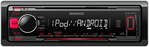 Kenwood KMM-203 Media-Receiver mit Apple iPod/iPhone Direct Control - Kabelbaum Radio Kenwood