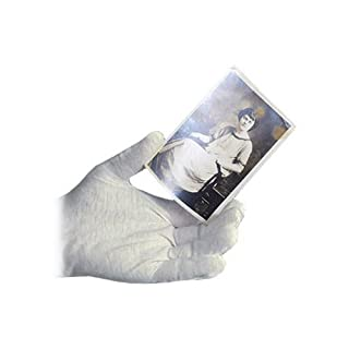 Archival Methods White Lintless Nylon Gloves Medium Package of 12 Pairs