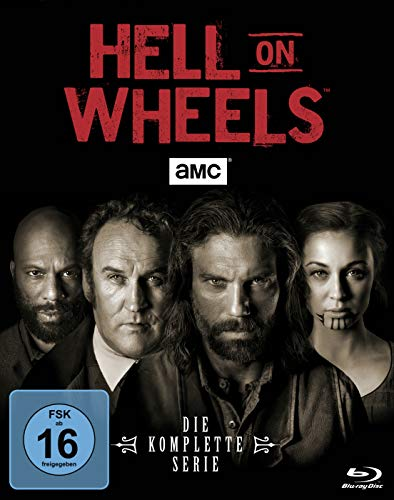 Hell on Wheels - Staffel 1-5 - Die komplette Serie [Blu-ray] (Stack Heel)