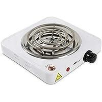 broil-master® Allume Charbon - Électrique, 1000 W, Thermostat 5 Positions, Protection Surchauffe, en Blanc - Plaque…