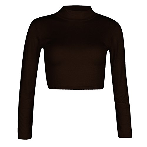 WearAll Damen Poloshirt Gr. S/M 34-36, schwarz