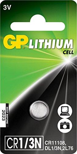 GP   Pila de litio (DL1/3N, 2L76, CR11108, 3 V)