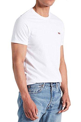 Levi's ss original hm tee, t-shirt uomo, multicolore (cotton + patch white 0000), small