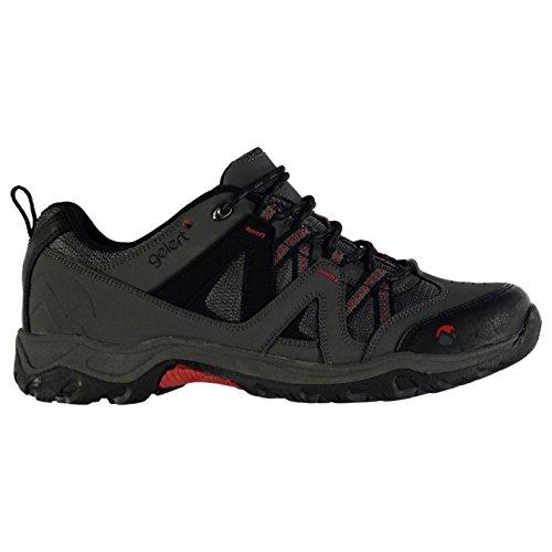 Gelert Herren Ottawa Wanderschuhe Trekkingschuhe Outdoor Schuhe Schnuerschuhe Charcoal 9.5 (43.5)