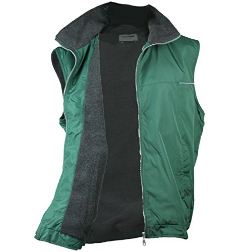 James & Nicholson -  Gilet  - Uomo Verde scuro