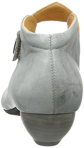 Think! Aida 80259, Scarpe con Cinturino alla Caviglia Donna Grigio (Elefant 16)