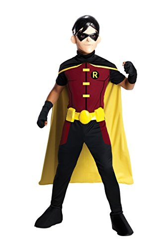 Costume Child Medium 8-10 (Robin Young Justice)