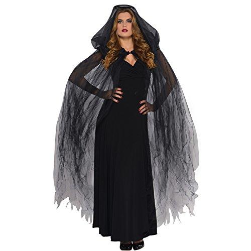 Temptress Kostüm - Dark Temptress Cape