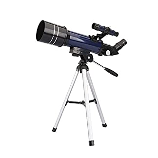GEERTOP Ultra-Clear Astronomical Refractor Tabletop Telescope with Tripod Finder Scope 400X70mm for Beginner Sky Gazers Teens